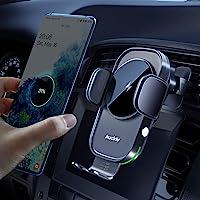 Auckly Draadloze Autolader, [Elektromagnetische Sense], Qi 15W Snel in Auto Draadloze Oplader Automatische Sensor…