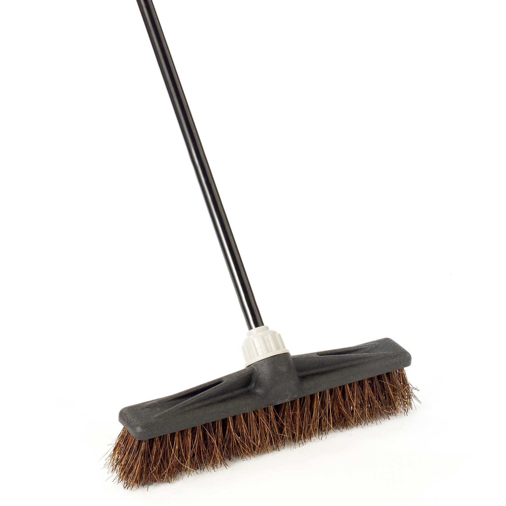 O-Cedar Professional 18'' Palmyra Rough-Surface Push Broom
