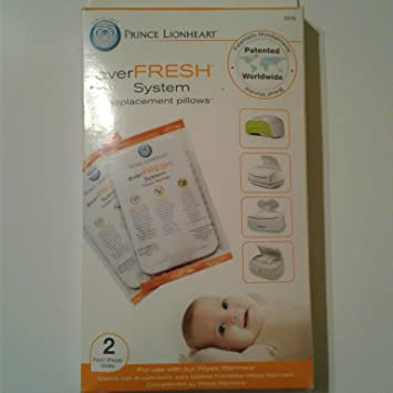 Amazon.com : Prince Lionheart Ever-Fresh Replacement Pillows for Ultimate Wipes Warmer (Pack of 4) : Baby
