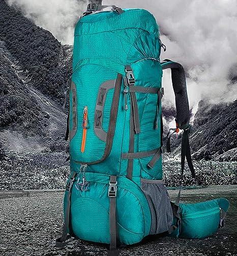 Amazon.com : QIANDING dengshanbao ZF Professional Outdoor Mountaineering Bag Multi-Function Ultra Light Outdoor Waterproof Travel Camping Hiking Riding ...