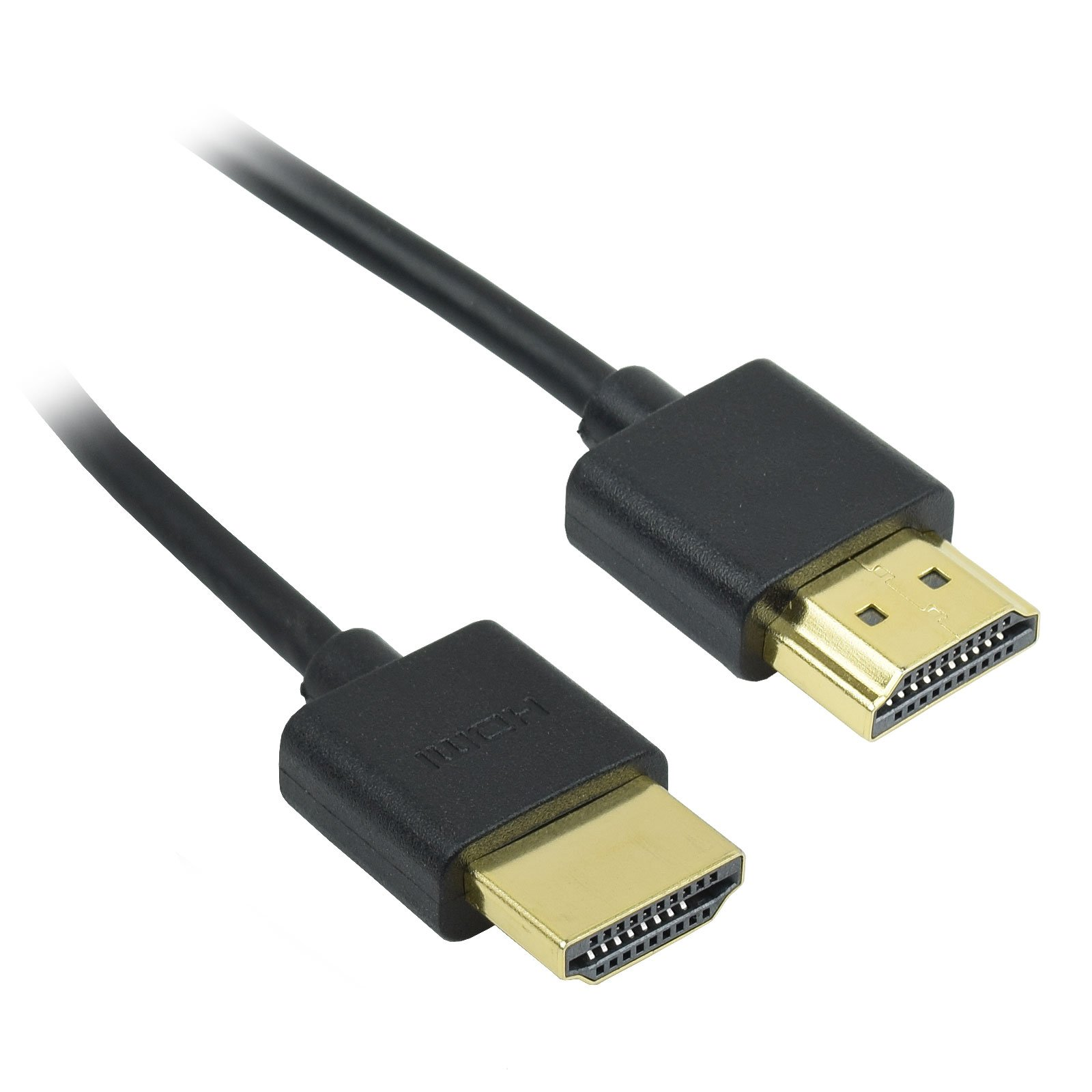 1.5-6Ft 36AWG HDMI Gold Plated Male//Male M//M Thin High Speed Cable with Ethernet