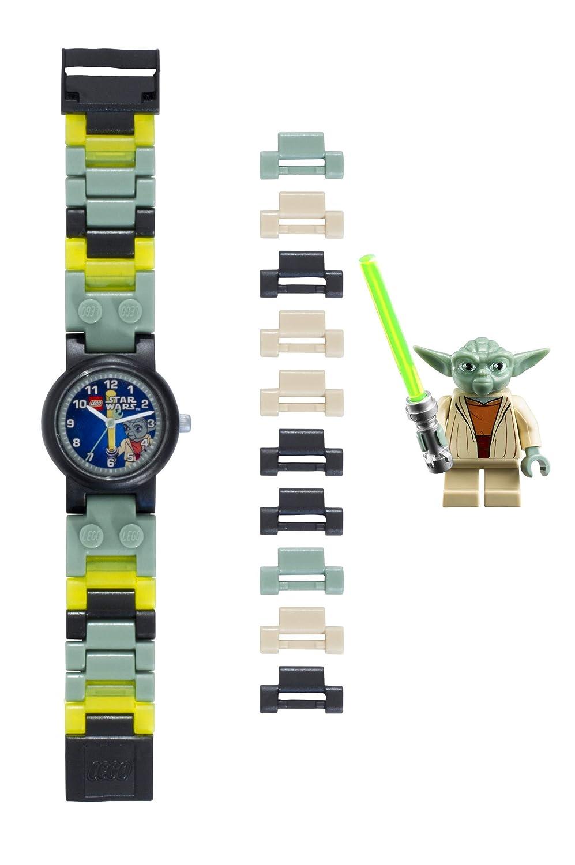 Amazon.com: Lego Kids Star Wars Yoda Wrist Watch w/ Minifigure (Green): Toys & Games