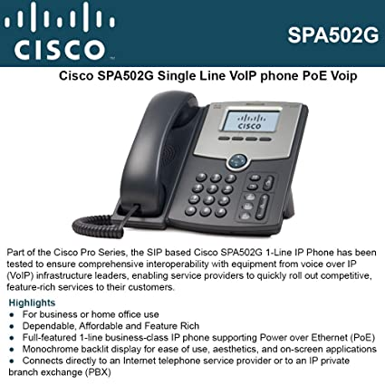 Cisco SPA502G IP Phone Drivers Windows XP
