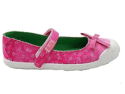 lulù Shoes scarpe bimba bambina primaverili estive sportive ballerine  casual comode modello con strappo colore fuxia d26f94d2585