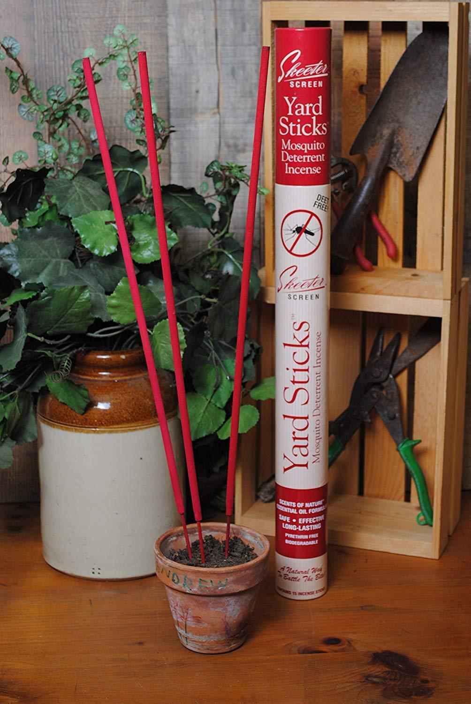 Scent Shop All Natural DEET-FREE Skeeter Screen Yard Sticks (15 Incense Sticks) by SCENT SHOP (Image #3)