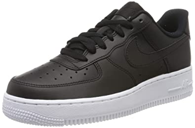 brand new 1f53b e4c38 Nike Air Force 1  07 Aa4083-015, Baskets Basses Homme, Noir Black
