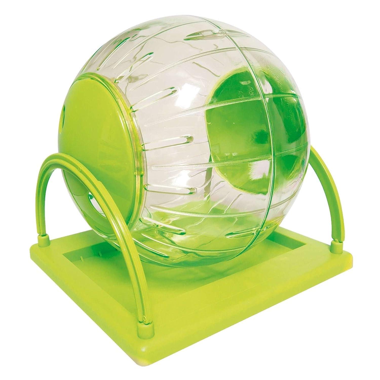 ICA gp10579Accessoire de récréation Boule d'exercice Plastique avec Base pour Hamster