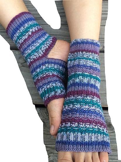 Amazon Hand Knit Yoga Socks Teal Tease Teal Sports Outdoors