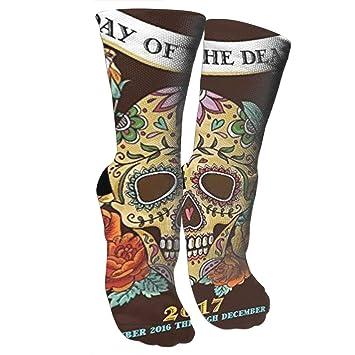 609311de7f Amazon.com: HAQCN Day of The Dead 2017 Compression Socks for Women ...
