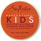 Shea Moisture Mango & Carrot Nourish & Hydrate Styling Smoothie Cream for Kids, 6 Ounce