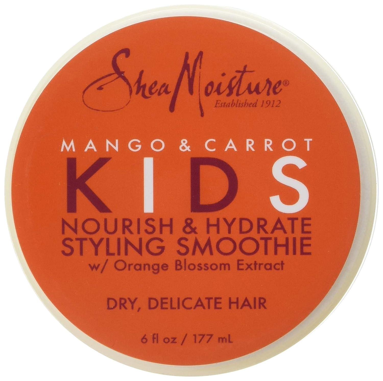 Shea Moisture Mango & Carrot Nourish & Hydrate Styling Smoothie Cream for Kids, 6 Ounce PerfumeWorldWide Inc. Drop Ship 905134