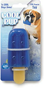 Cool Pup Cooling Toy (Popsicle (Mini), Blue)
