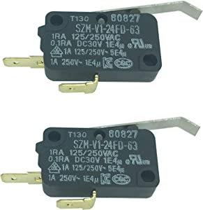 LONYE 3405-001117 Refrigerator Dispenser Switch Replacement for Kenmore Maytag SAMSUNG Refrigerator SZM-V1-24FD-63 DA34-00011A AP5962465 PS11712663(Pack of 2)