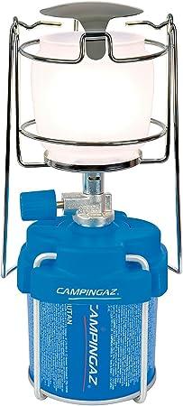 Campingaz Lámpara con Gas para Cartucho C-206, Gaslampe Lampe Lumo 206, Blau, 204686, Azul