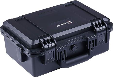 Lykus HC-3310 Estuche impermeable con espuma, Maletín para cámara ...