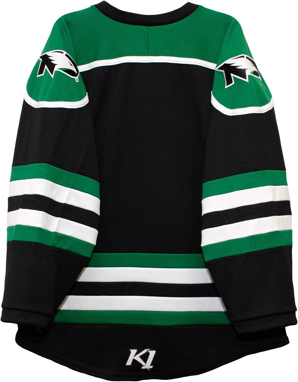 black hockey jersey