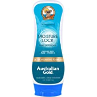 Australian Gold Moisture Lock Tan Extender Moisturizing Lotion, 8 Ounce | Nourish Skin and Lock in Color | Enriched with…