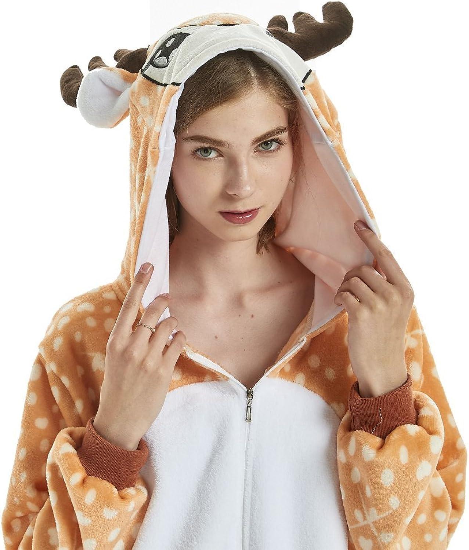 Yuson Girl Pijamas de Unicornio Pijamas de UnaPieza Adulto Pijamas ...