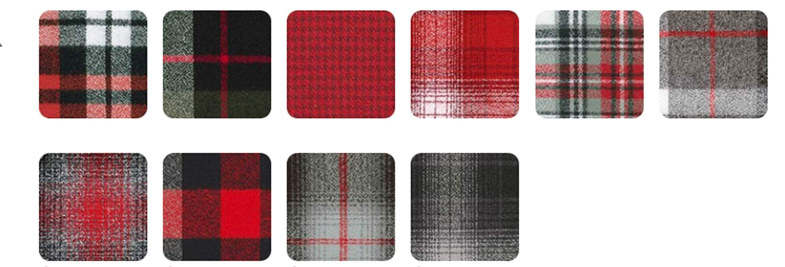 Kaufman 10'' Square Mammoth Flannel Red 42 pcs. by Robert Kaufman (Image #2)