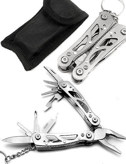 Outdoor saxx® – de 10 en 1 Multi Tool Alicate, bicicleta, camping,