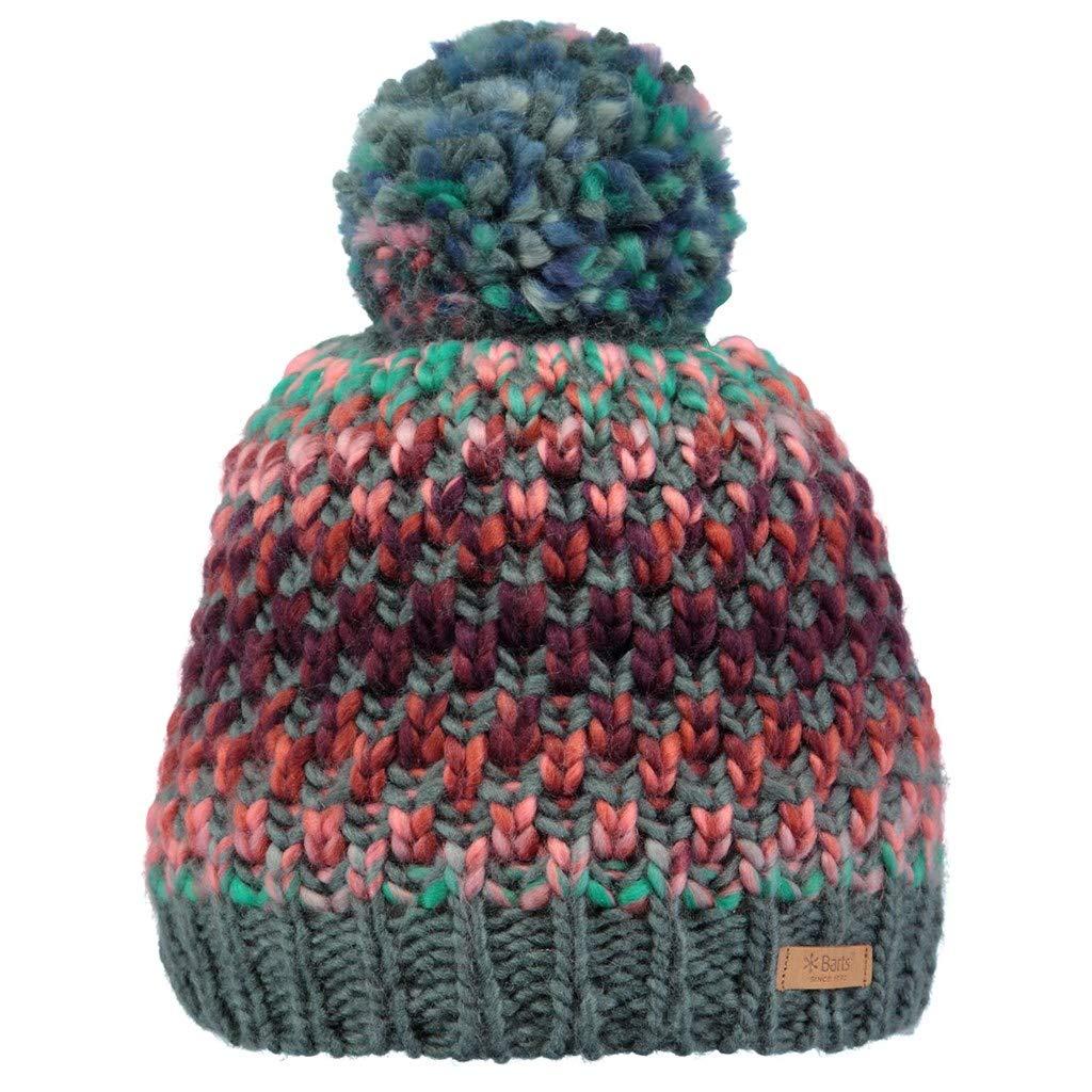 Barts Hats Nicole Bobble Hat - Blue-Green Green (Misty Verde 13) Small 15-0000001964
