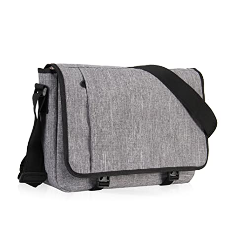5c4d21bc97 Image Unavailable. Image not available for. Color  Hynes Eagle Laptop  Messenger Bag for 15 inch ...