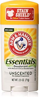product image for ARM & HAMMER Essentials Natural Deodorant Unscented 2.50 oz (Pack of 10)