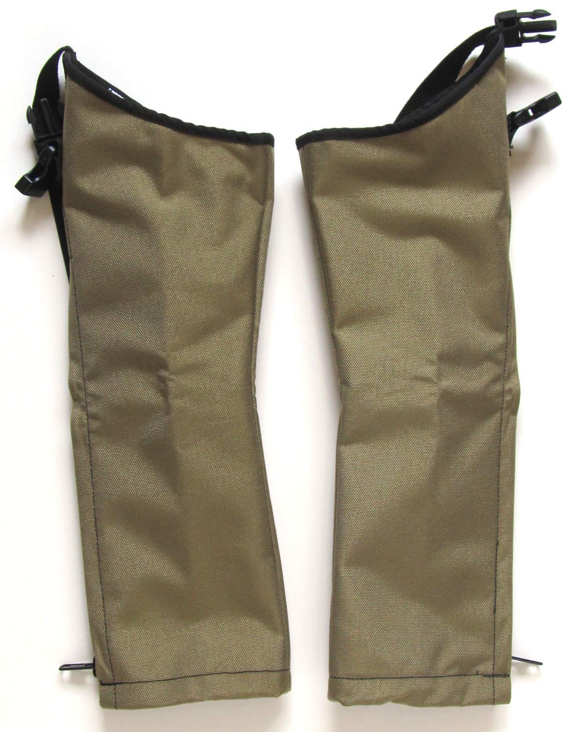 Snake Chaps for Kids - Youth Size Snake Chaps - Snake Bite Full Protection Chaps for Children - Crackshot (Khaki Tan, Large Stocky) by Crack Shot