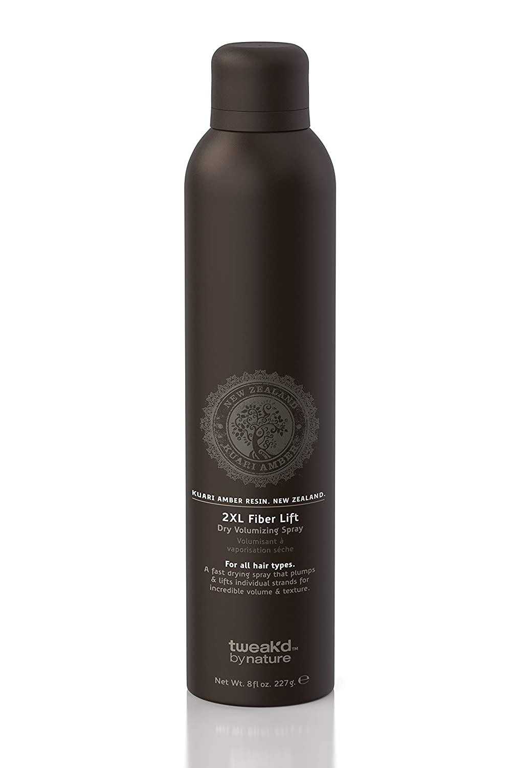 Tweak'd 2XL Fiber Lift Dry Volumizing Spray Kauri Amber Resin 8 oz
