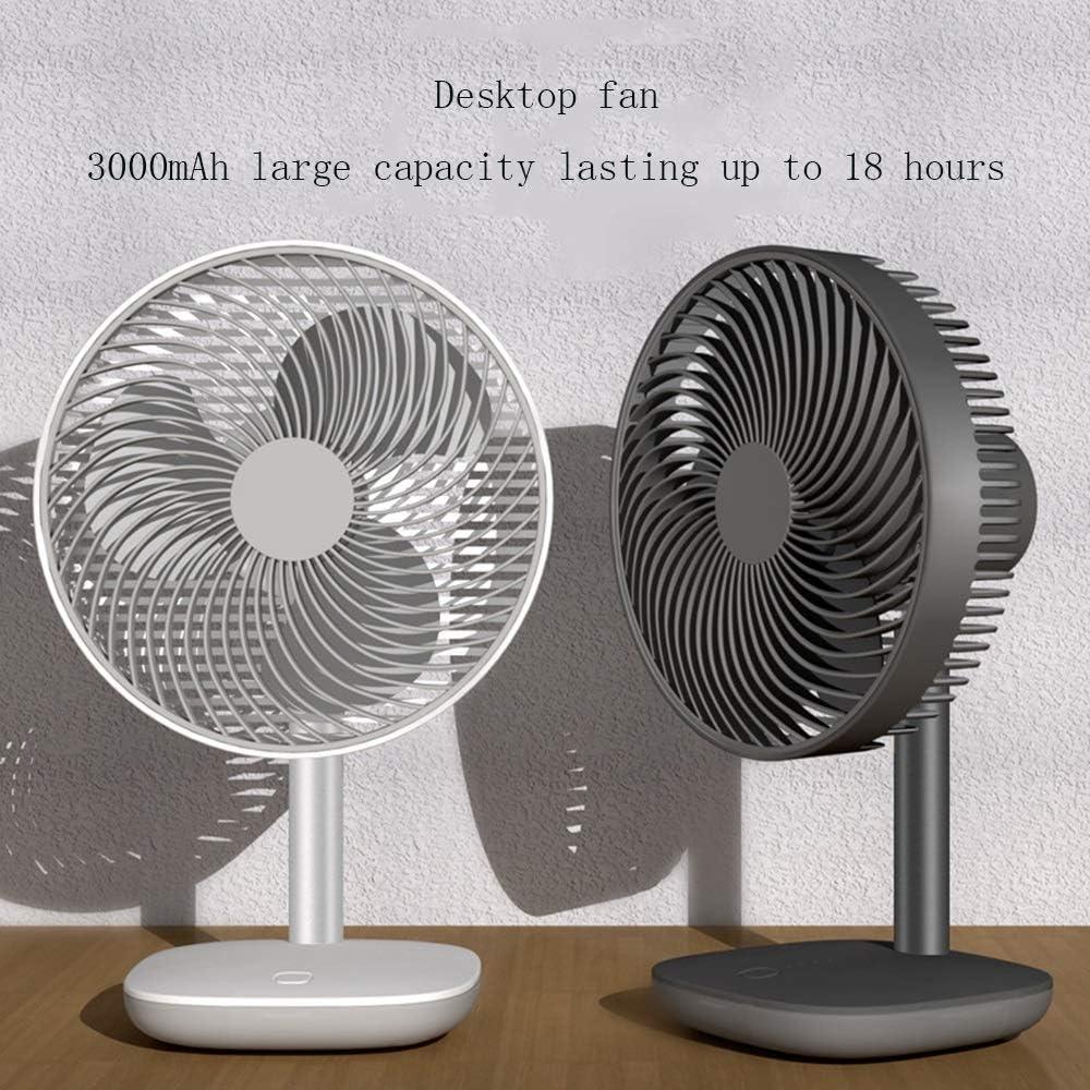 Table//Office//Bedroom//Outdoor Fan CKX USB Desktop Fan,Newest Desk Fan Color : White Portable USB Wingless Electric Fan