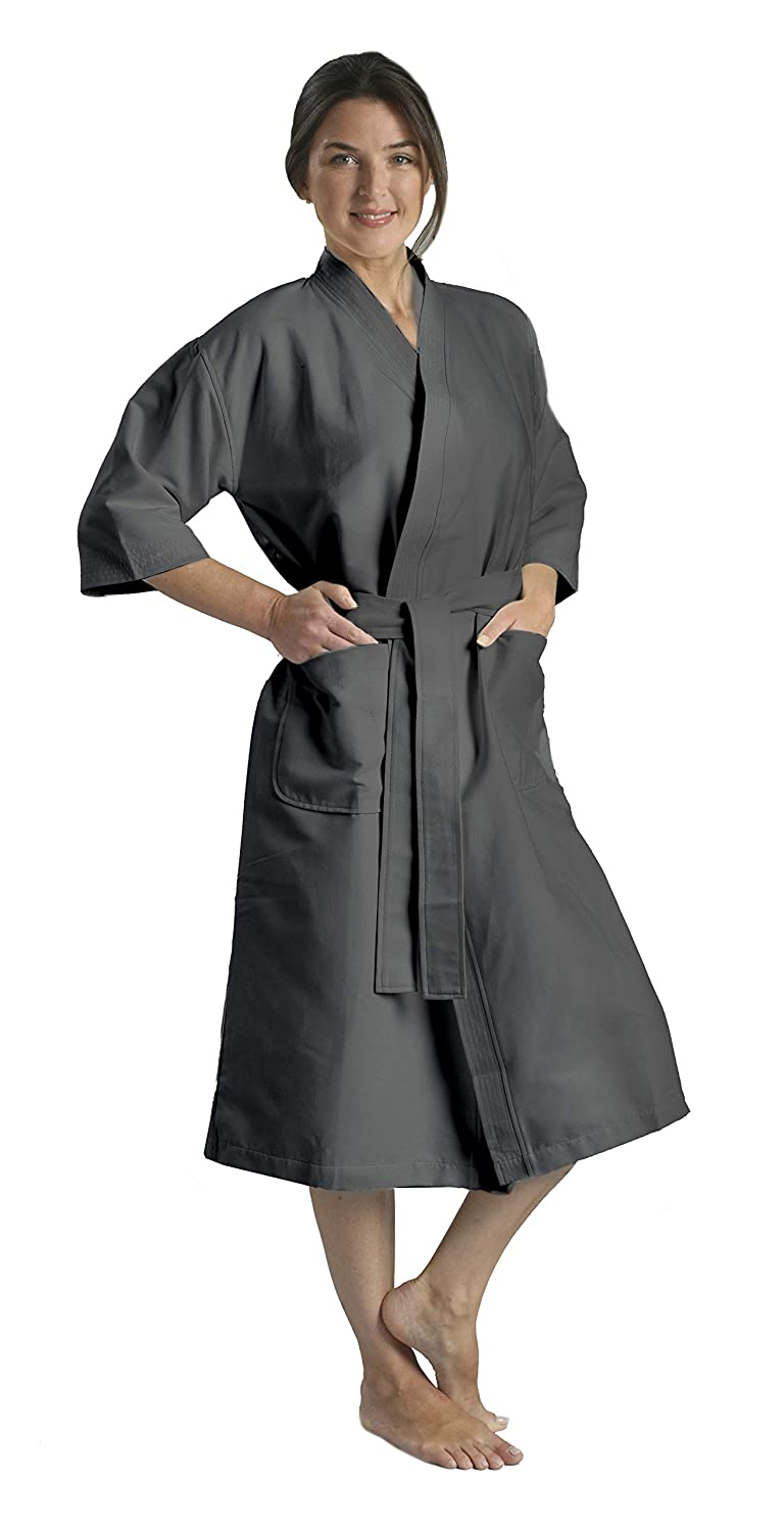 Chamois Microfiber Kimono Hotel Robe - Lightweight Absorbent Soft Spa  Bathrobe by Monarch Cypress at Amazon Women s Clothing store  afff851c5
