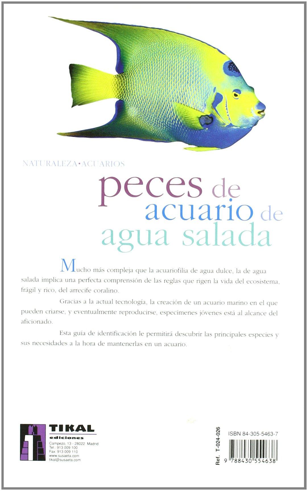 Peces de acuario de agua salada: Losange: 9788430554638: Amazon.com: Books