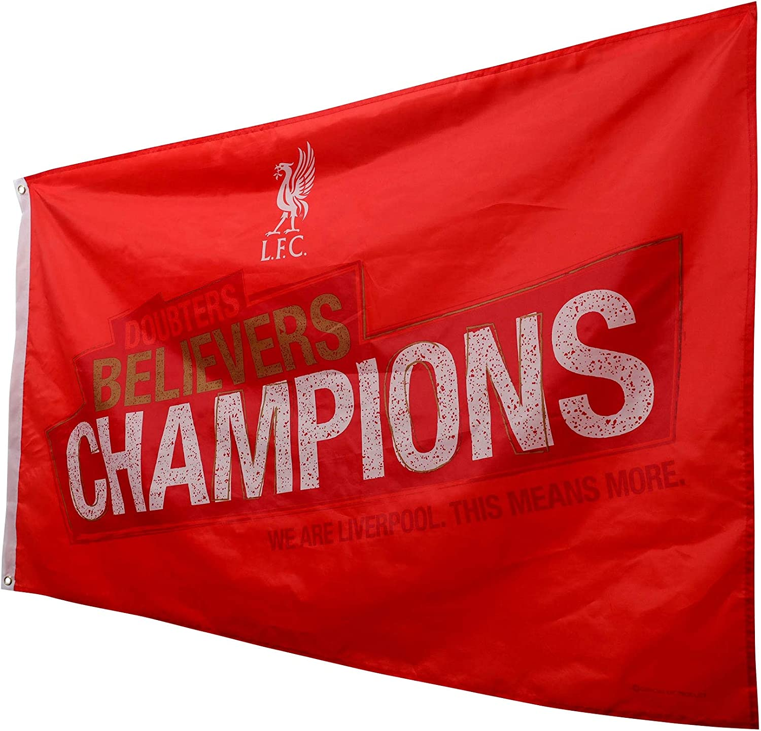 Liverpool FC Champions Flag LFC Official