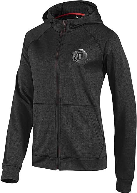 persona Bendecir suéter  Adidas D Rose Hoodie Hoody Jacket Men graphite grey graphite Size ...