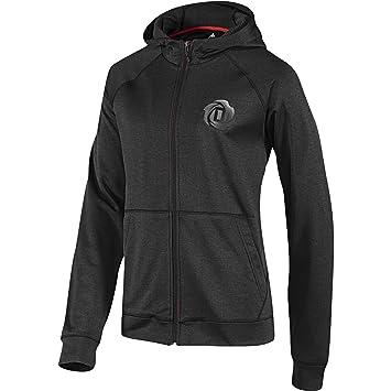 f6ea8464e70b Adidas D Rose Hoodie Hoody Jacket Men graphite grey graphite Size L ...