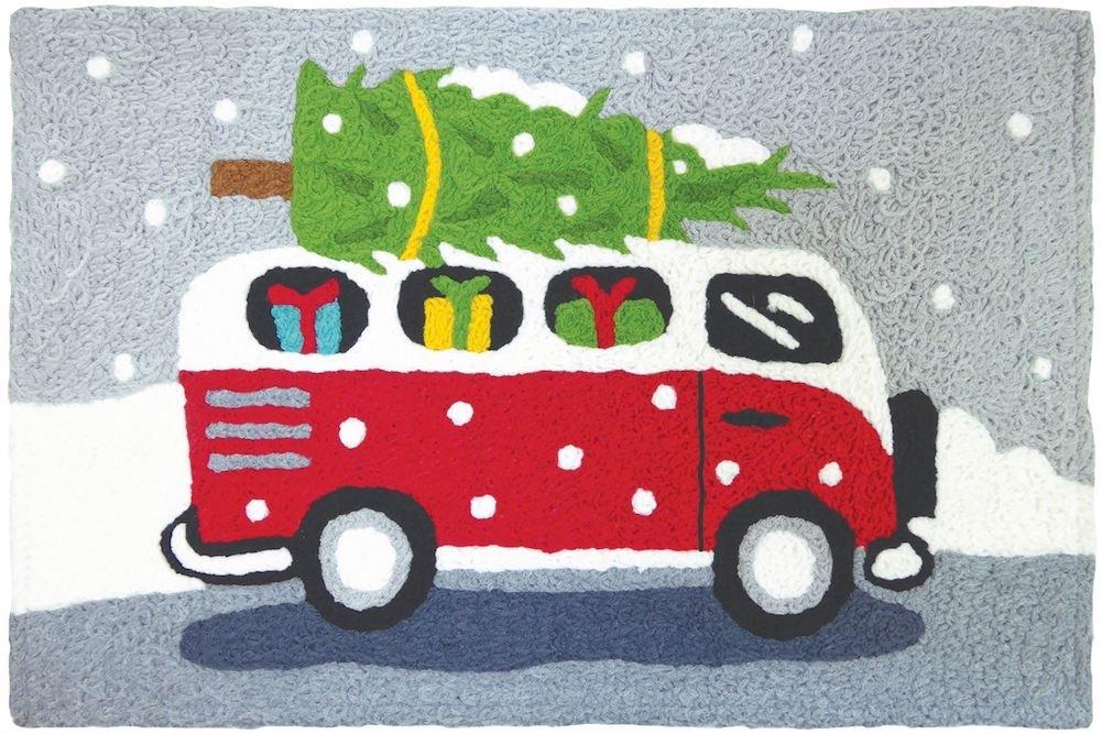 Holiday Van 21'' x 33'' Jellybean Accent Rug by Jellybean (Image #1)