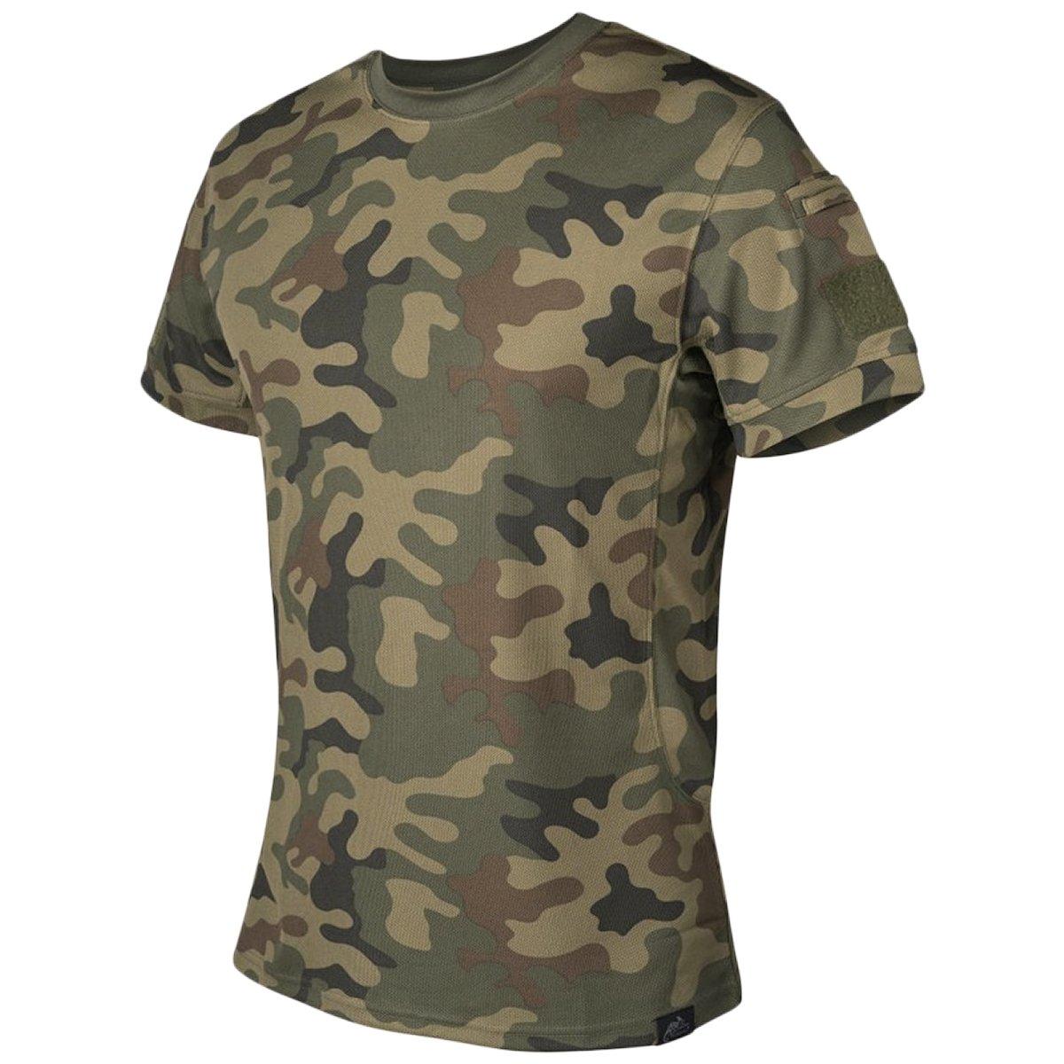 HELIKON-TEX Men's Tactical T-Shirt PL Woodland Size XXL