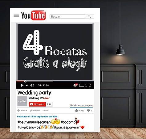setecientosgramos Photocall Youtube   80x110   Ventana Youtube ...