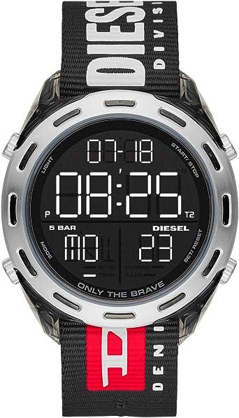 Diesel Crusher DZ1914 - Reloj digital deportivo para hombre ...