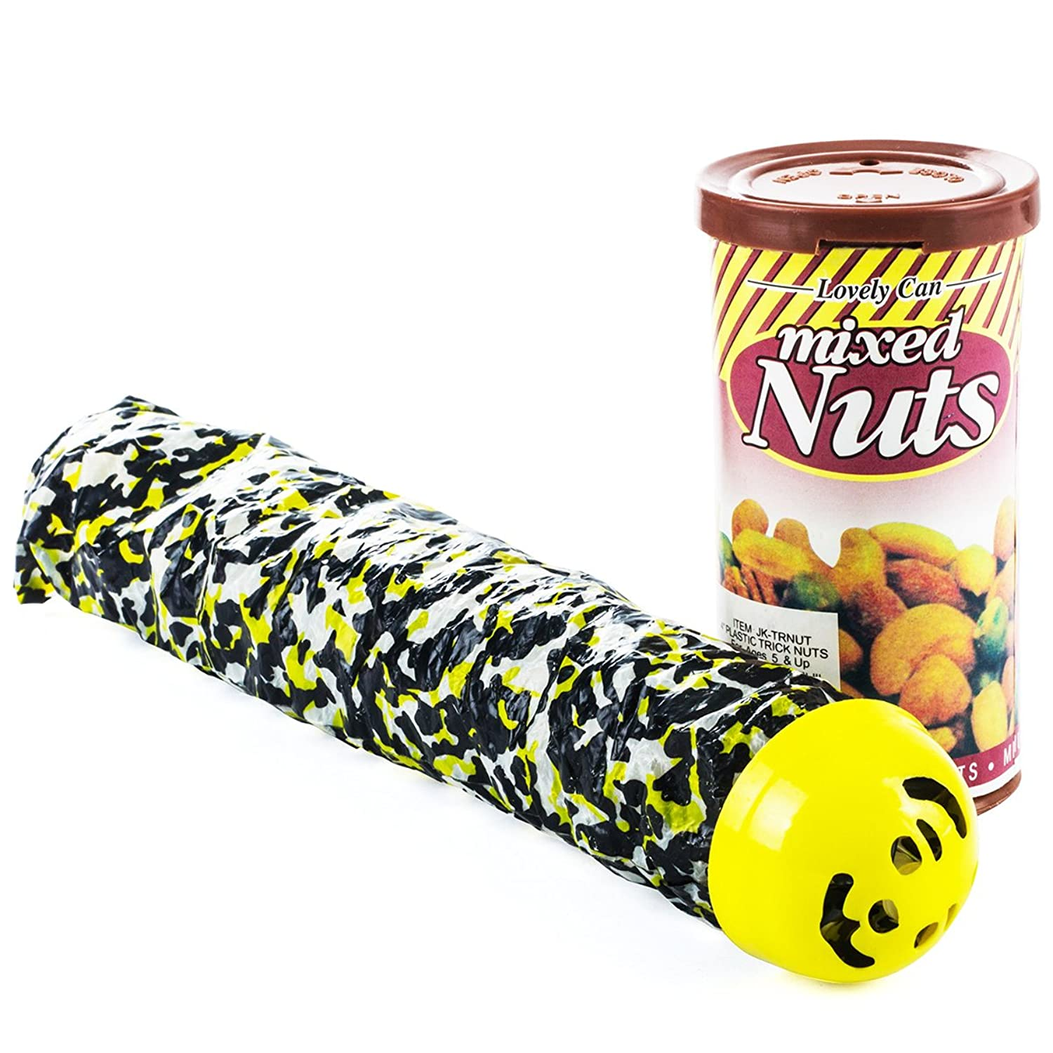 Amazon.com: Prank Stuff - Pranks and Gags - Snake in a Can of Nuts ...