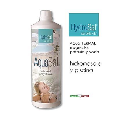 AquaSal es una mezcla de alta concentración de sales de magnesio, potasio y yodo de