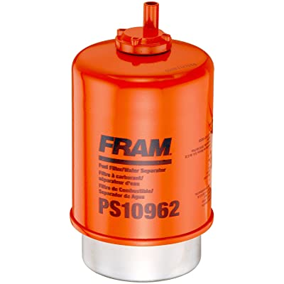 FRAM PS10962 HD Secondary Snap-Lock Fuel/Water Separator Filter with Drain: Automotive