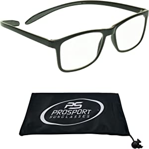 Multifocal Progressive 3 Magnifications in 1 Lens No Line Computer Gaming Reading Glasses for Men & Women