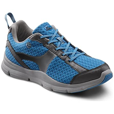 Dr. Comfort Women's Meghan Turquoise Diabetic Athletic Shoes