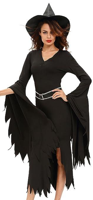 8d393383ffb0 R-Dessous Damen Kostüm Hexe Zauberin Horror Vampir Gothic Dark Lady  Halloween Karneval Fasching Verkleidung Groesse: M