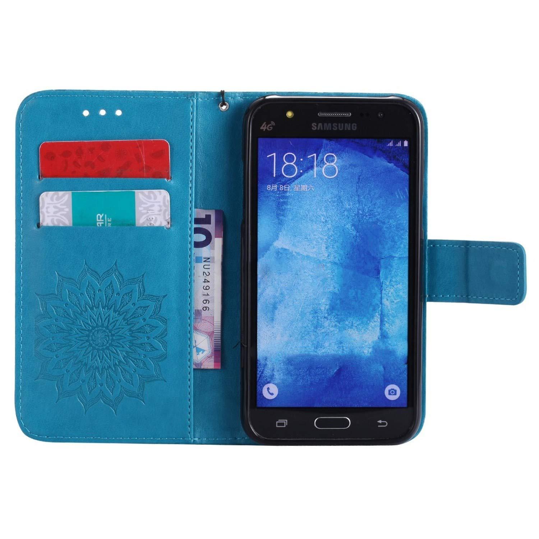 Amazon.com: Flip Case for Samsung Galaxy J5 J 5 2015 500 ...