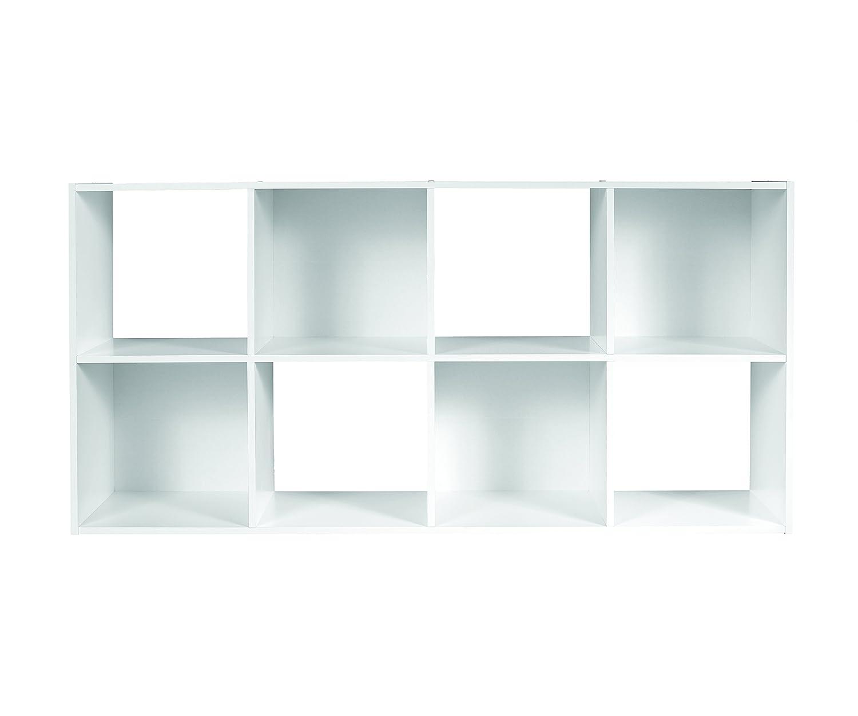 2-Cube ClosetMaid 8947 Cubeicals Organizer White