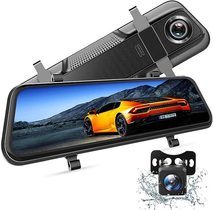 Vantop H609 Dashcam Rückspiegel Fhd 1080p Dashcam Auto Elektronik