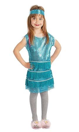 9 Alco Disfraz Charleston 7 Años Infantil hCtxQdsr