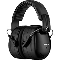 Mpow Ear Muffs Noise Reduction Safety Hearing Protection, SNR 34dB Shooting Hunting Ear Muffs, Professional Hearing Ear Protection with a Carrying Bag Adjustable Folding Ear Defenders